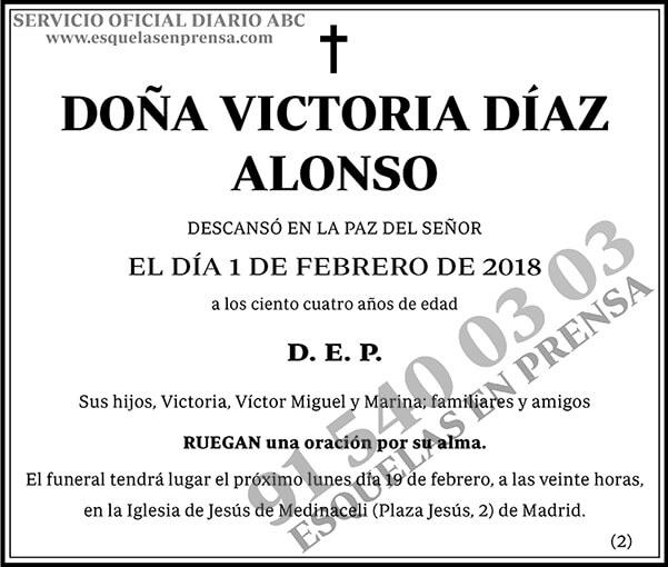Victoria Díaz Alonso